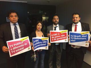 Entidades consideram ilegal fusão da TV Brasil com a NBR